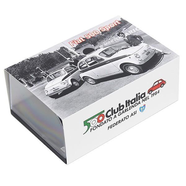 1/43 フィアット 500 CLUB ITALIA 500 60th SPORTミニチュアモデル(リミテッドエディション)|itazatsu|09