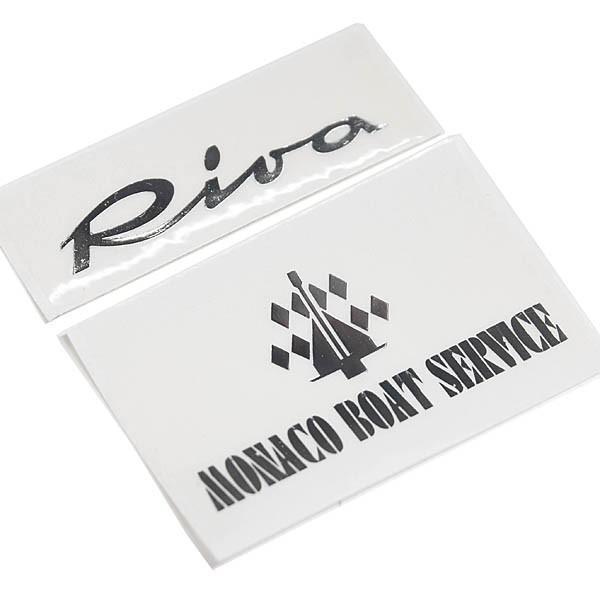 Riva Monaco Boat Serviceステッカー|itazatsu|03