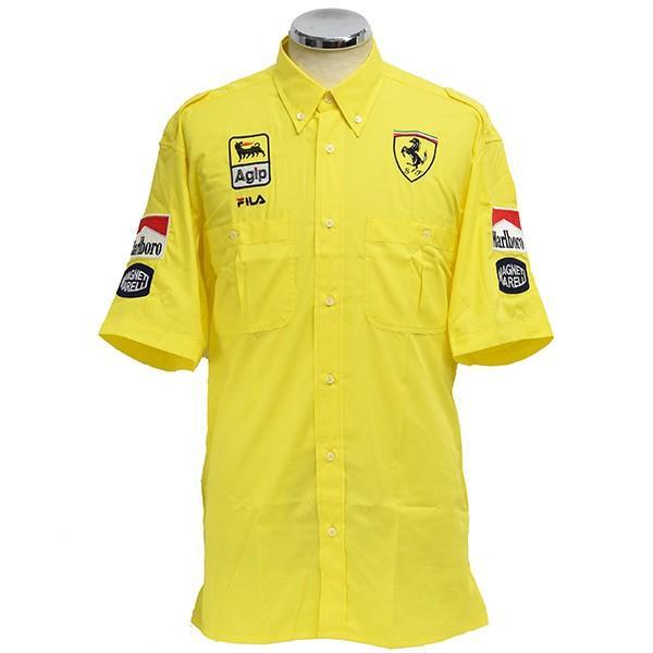 スクーデリア フェラーリ 1991ティームスタッフ用ピットシャツ by FILA|itazatsu