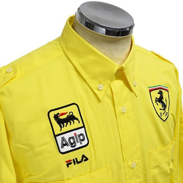 スクーデリア フェラーリ 1991ティームスタッフ用ピットシャツ by FILA|itazatsu|03