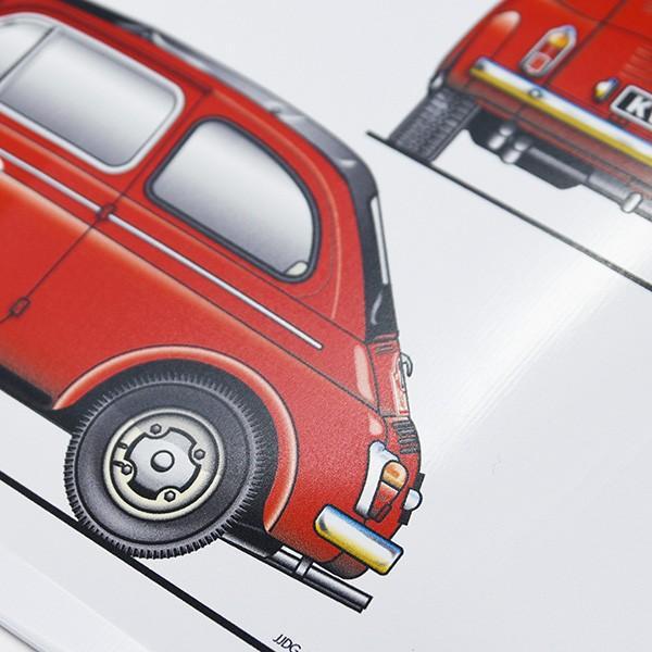 Steyr Puch 650TR2メタルプレート(レッド)|itazatsu|04