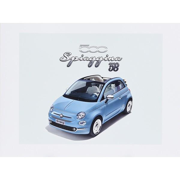 フィアット 500 Spiaggina58本国カタログ|itazatsu