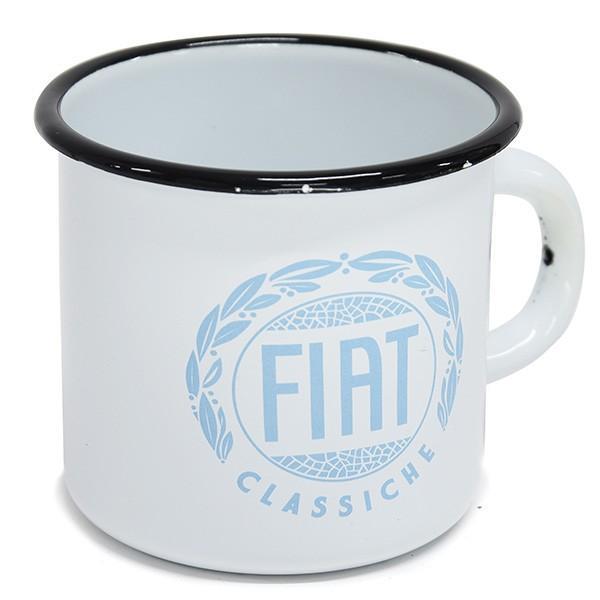 フィアット純正 Classicheホーローマグカップ|itazatsu