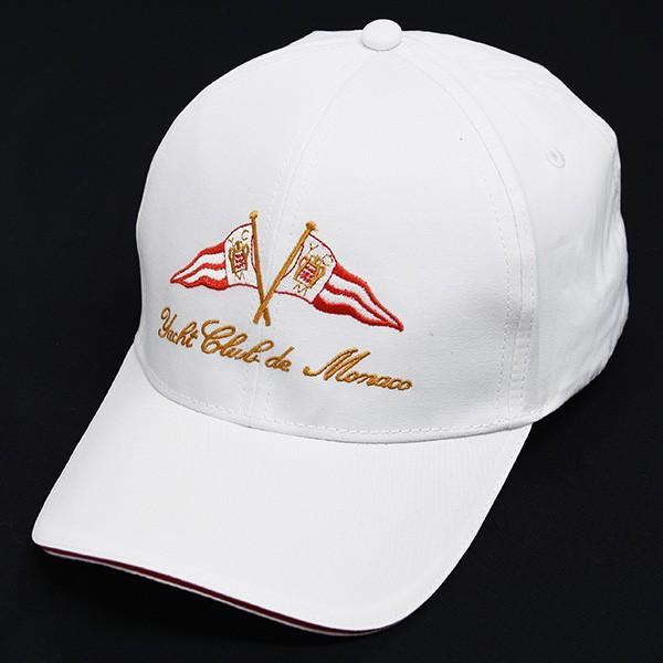 Yacht Club de Monacoオフィシャルベースボールキャップ(ホワイト)|itazatsu