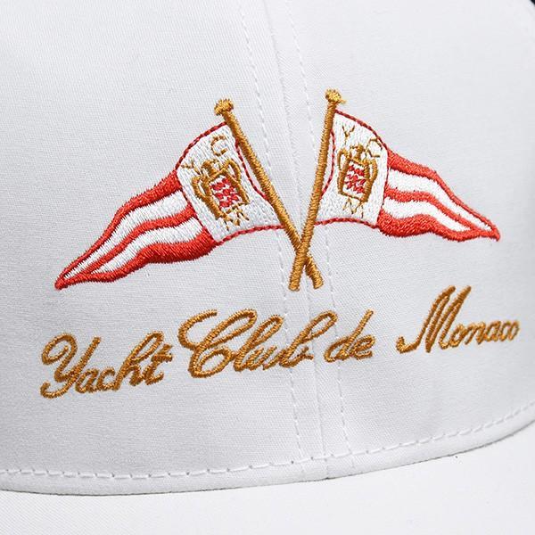 Yacht Club de Monacoオフィシャルベースボールキャップ(ホワイト)|itazatsu|04