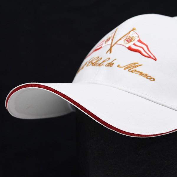 Yacht Club de Monacoオフィシャルベースボールキャップ(ホワイト)|itazatsu|05