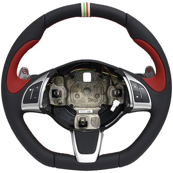 アバルト純正 695 TRIBUTO Ferrariステアリングホイール itazatsu 02