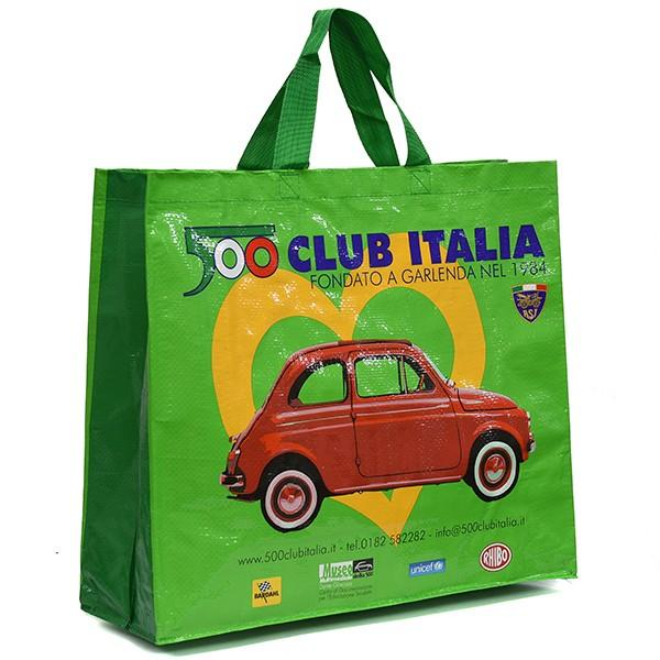 フィアット FIAT 500 CLUB ITALIA ショッパー(グリーン)|itazatsu