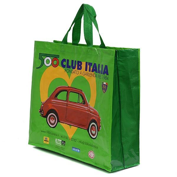 フィアット FIAT 500 CLUB ITALIA ショッパー(グリーン)|itazatsu|03