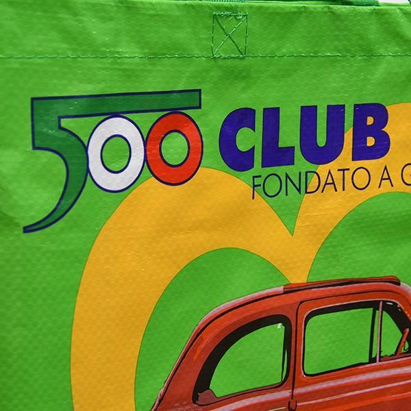 フィアット FIAT 500 CLUB ITALIA ショッパー(グリーン)|itazatsu|04