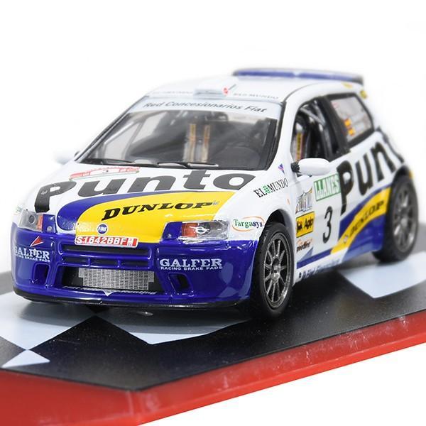 1/43 フィアット Punto S1600 Rallyミニチュアモデル|itazatsu