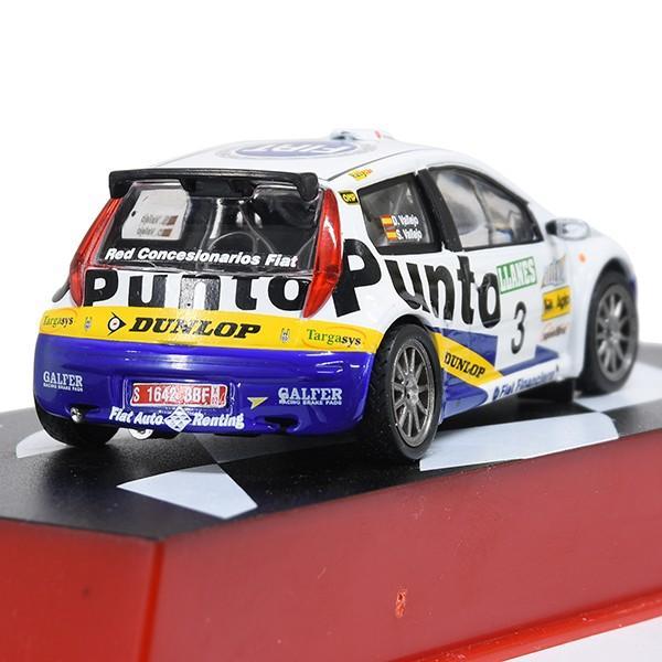 1/43 フィアット Punto S1600 Rallyミニチュアモデル|itazatsu|02