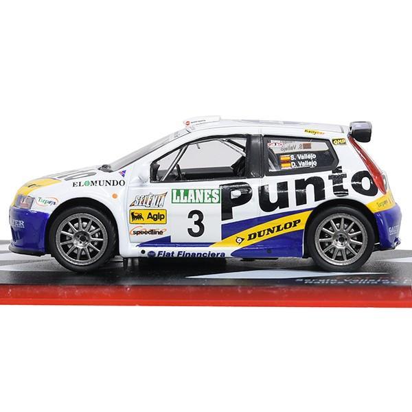 1/43 フィアット Punto S1600 Rallyミニチュアモデル|itazatsu|03