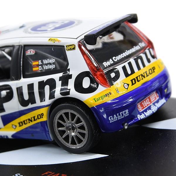1/43 フィアット Punto S1600 Rallyミニチュアモデル|itazatsu|05