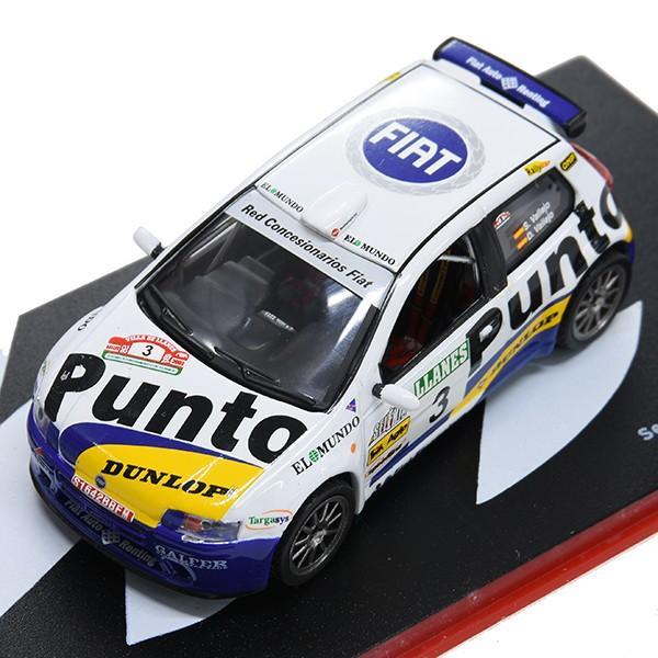 1/43 フィアット Punto S1600 Rallyミニチュアモデル|itazatsu|07