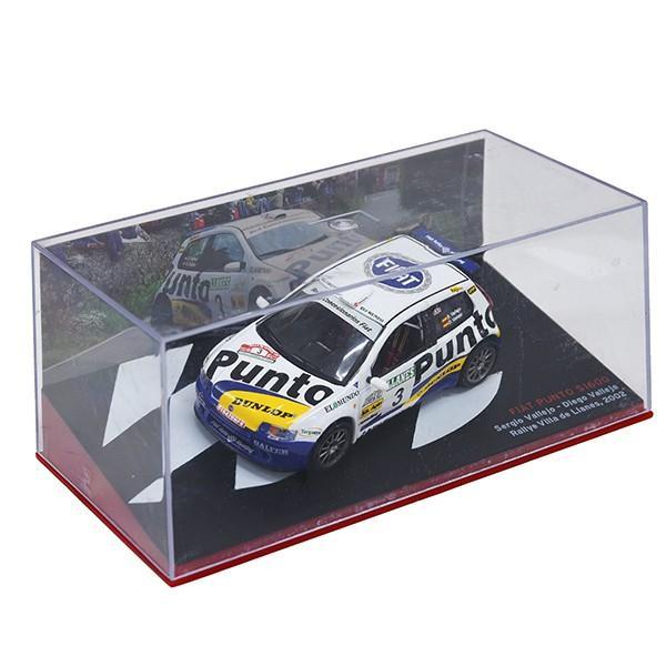 1/43 フィアット Punto S1600 Rallyミニチュアモデル|itazatsu|08