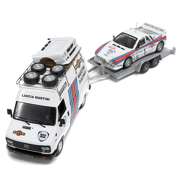 1/43 ランチア純正 037 Rally&MARTINI RACINGトランスポーターミニチュアモデル|itazatsu|03