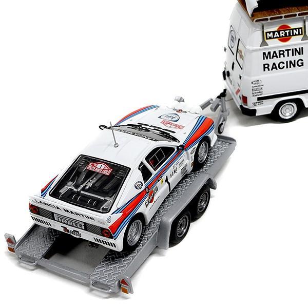 1/43 ランチア純正 037 Rally&MARTINI RACINGトランスポーターミニチュアモデル|itazatsu|04