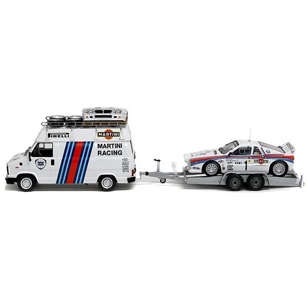 1/43 ランチア純正 037 Rally&MARTINI RACINGトランスポーターミニチュアモデル|itazatsu|05