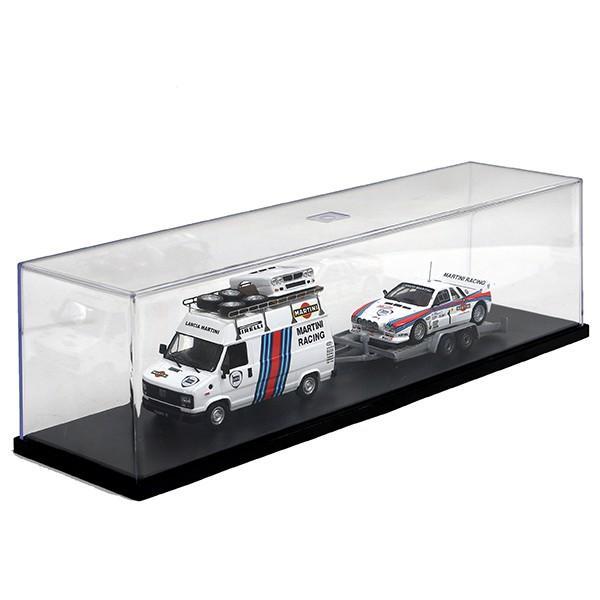 1/43 ランチア純正 037 Rally&MARTINI RACINGトランスポーターミニチュアモデル|itazatsu|09