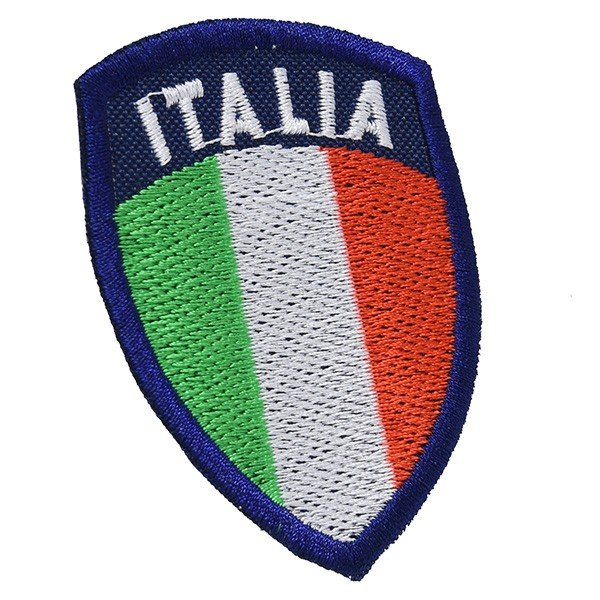 イタリア国旗ワッペン(シールド型)|itazatsu|02