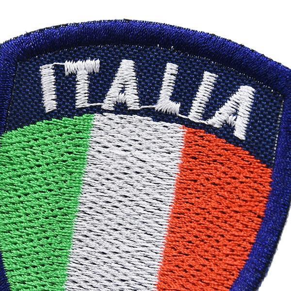 イタリア国旗ワッペン(シールド型)|itazatsu|03