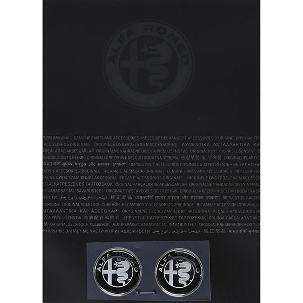 アルファロメオ純正 Newエンブレム3Dステッカー(21mm/モノトーン)|itazatsu|02
