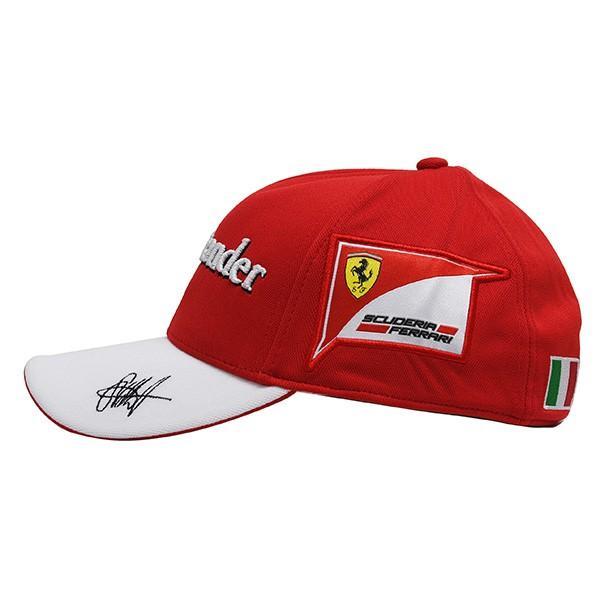 スクーデリア フェラーリ 2017ドライバー支給用キャップ(S.Vettel)|itazatsu|03