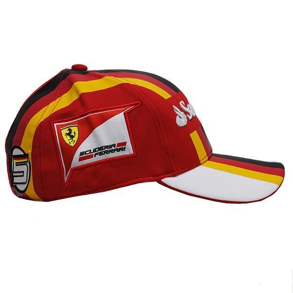 スクーデリア フェラーリ 2017ドライバー支給用キャップ(S.Vettel)|itazatsu|04