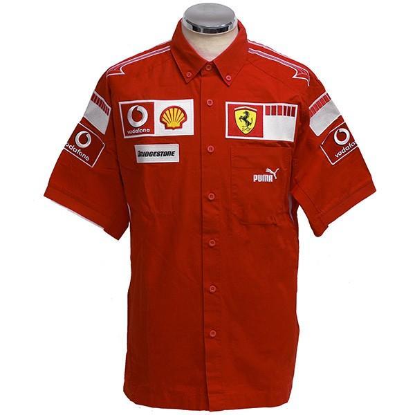 スクーデリア フェラーリ 2006ティームスタッフ用シャツ itazatsu