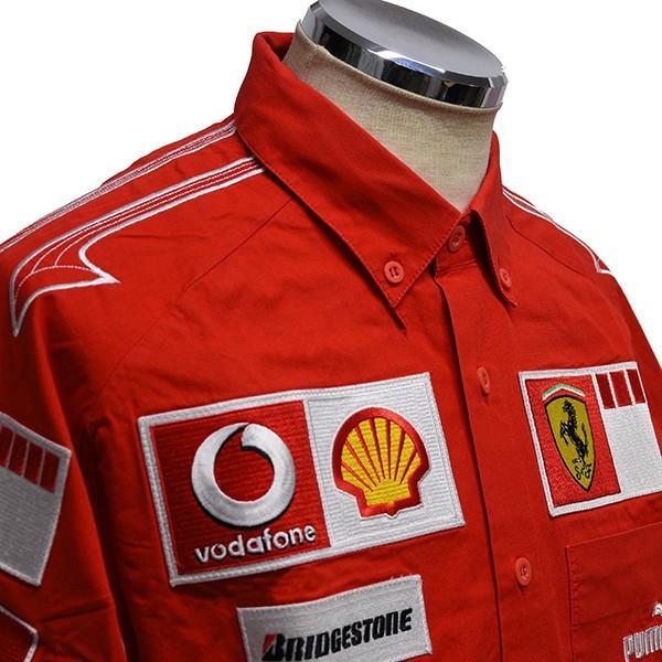 スクーデリア フェラーリ 2006ティームスタッフ用シャツ itazatsu 04