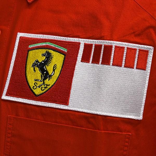 スクーデリア フェラーリ 2006ティームスタッフ用シャツ itazatsu 06