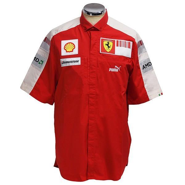 スクーデリア フェラーリ 2009ティームスタッフ用シャツ|itazatsu
