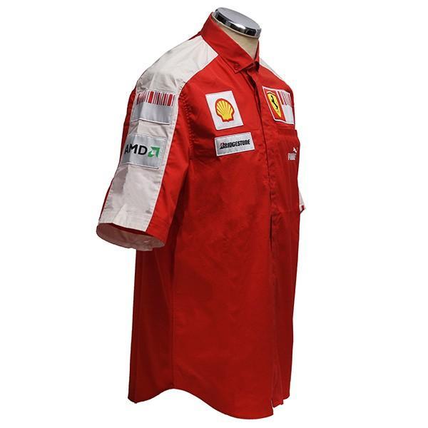 スクーデリア フェラーリ 2009ティームスタッフ用シャツ|itazatsu|02