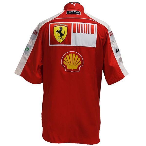 スクーデリア フェラーリ 2009ティームスタッフ用シャツ|itazatsu|03