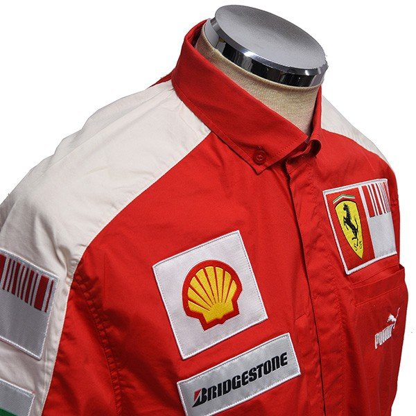 スクーデリア フェラーリ 2009ティームスタッフ用シャツ|itazatsu|04