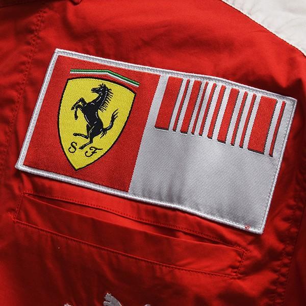 スクーデリア フェラーリ 2009ティームスタッフ用シャツ|itazatsu|06