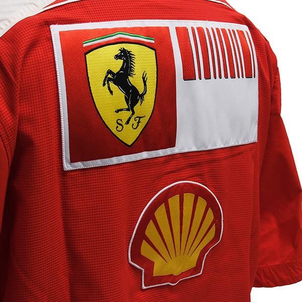 スクーデリア フェラーリ 2009ティームスタッフ用シャツ|itazatsu|08
