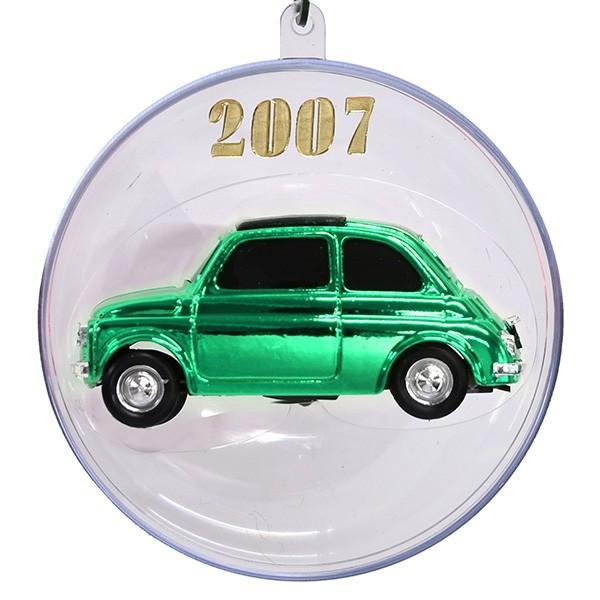 1/43 フィアット 500ミニチュアモデル Natale 2007エディション(メタルグリーン)|itazatsu|02