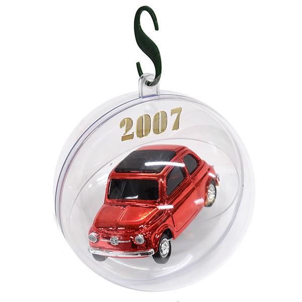 1/43 フィアット 500ミニチュアモデル Natale 2007エディション(メタルレッド)|itazatsu