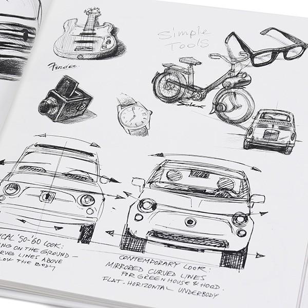 FIAT 500 THE DESIGN BOOK|itazatsu|05