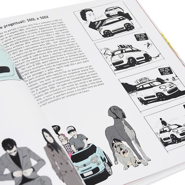 FIAT 500 THE DESIGN BOOK|itazatsu|08