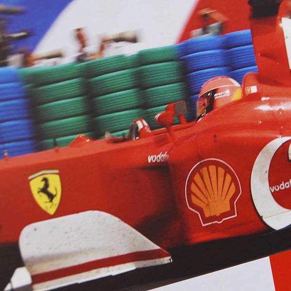 スクーデリア フェラーリ 2002ドライバーズ&コンストラクターズタイトル獲得記念ポスター|itazatsu|03