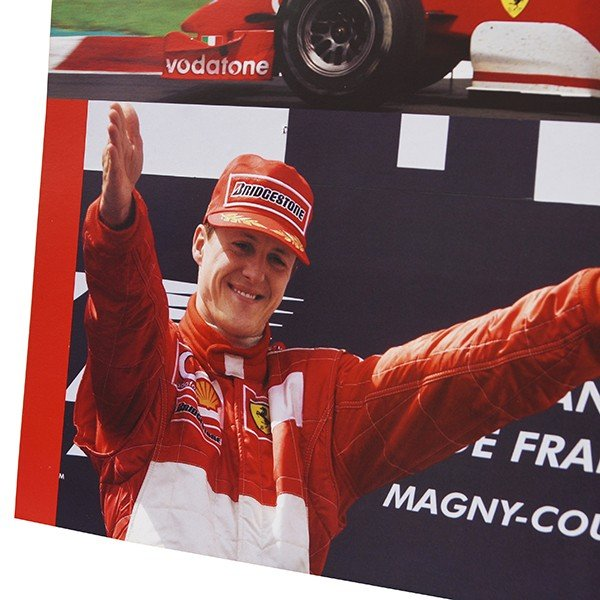 スクーデリア フェラーリ 2002ドライバーズ&コンストラクターズタイトル獲得記念ポスター|itazatsu|04