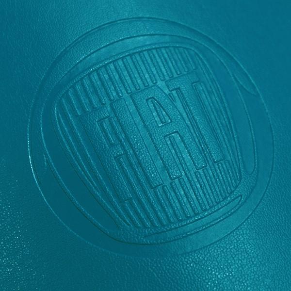 フィアット純正 レザーキーケース(ブルー) itazatsu 05