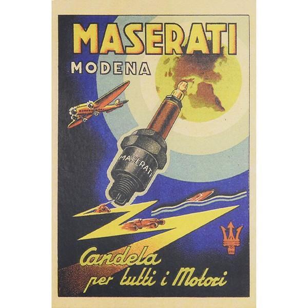 マセラティ MASERATI-100 anniversario-ポストカード|itazatsu|03
