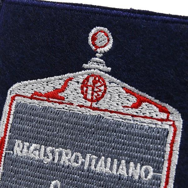Registro Italiano Alfa Romeoグリルワッペン itazatsu 03