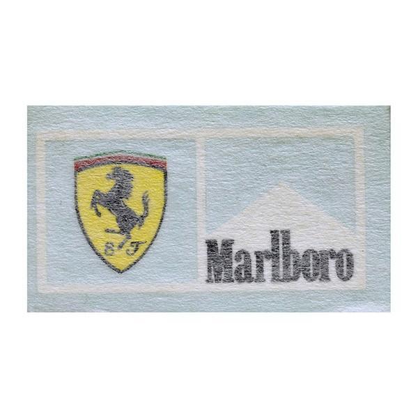 スクーデリア フェラーリ Marlboroステッカー(XS/切り文字タイプ)|itazatsu|02