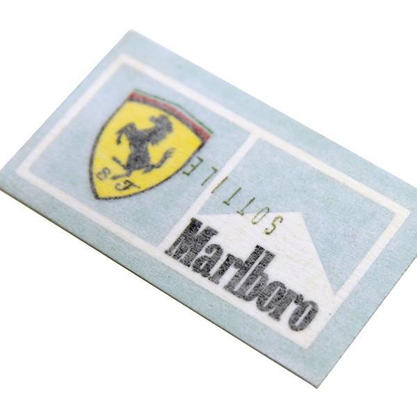 スクーデリア フェラーリ Marlboroステッカー(XS/切り文字タイプ)|itazatsu|05
