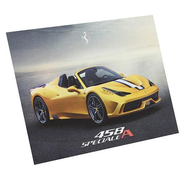 フェラーリ純正 458 speciale Aテクニカルカード|itazatsu|03